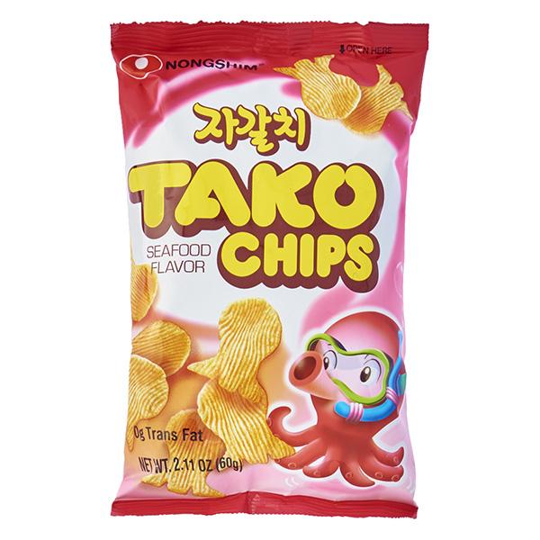 Snack Nongshim Tako Gói 60G