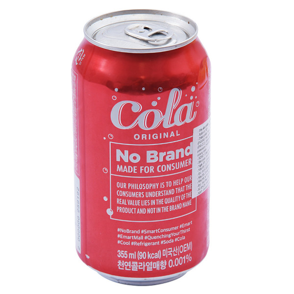 Nước Ngọt Cola Original No Brand 355Ml