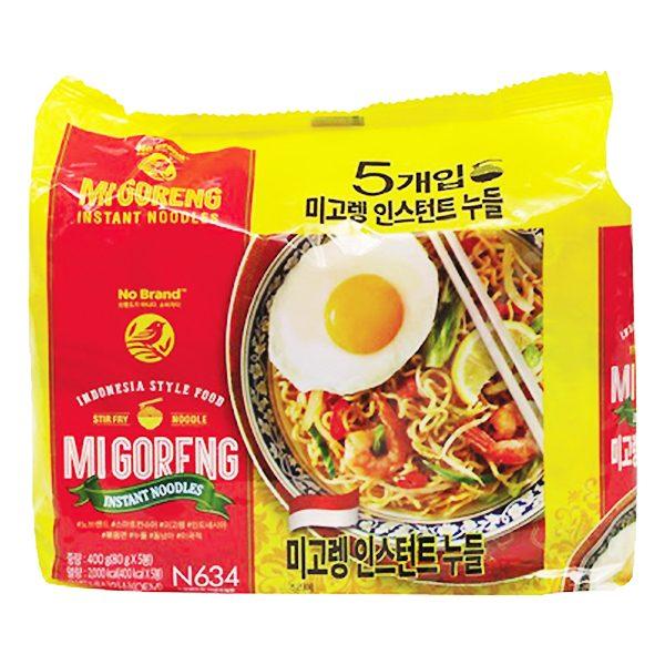 Lô 5 Mì Trộn Mi Goreng No Brand Gói 80G