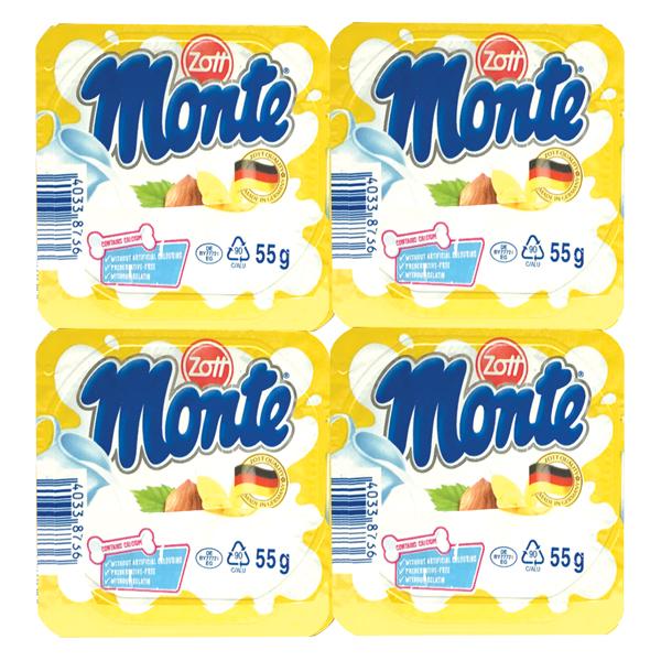 Lốc 4 Váng Sữa Zott Monte Vị Vani 55G