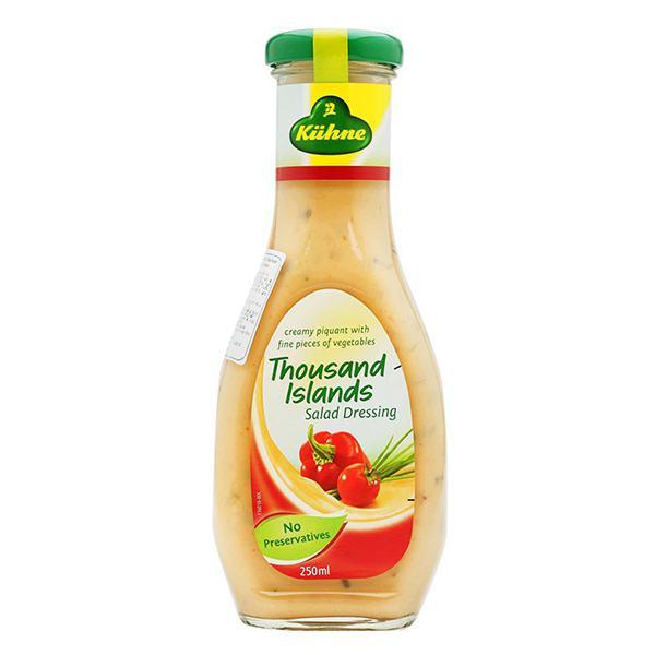 Sốt Salad Kuhne Kiểu Thousand Islands 250Ml