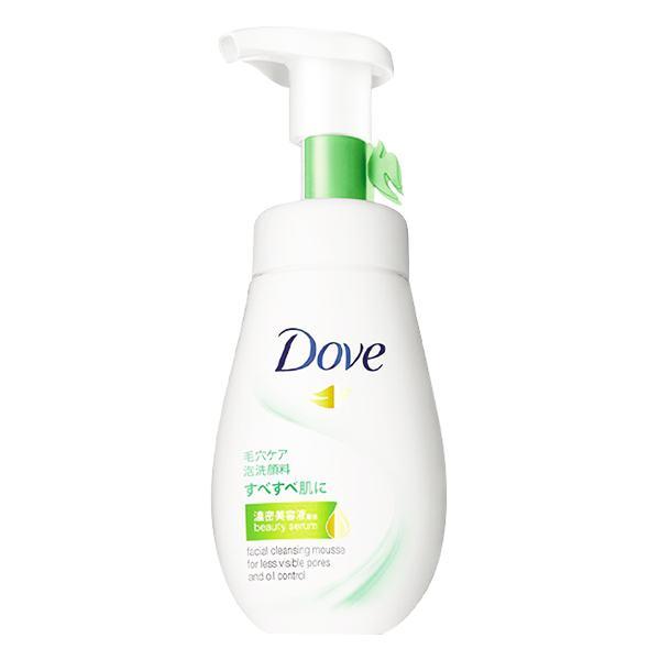 Sữa Rửa Mặt Dạng Bọt Dove Serum Kiềm Dầu 160Ml