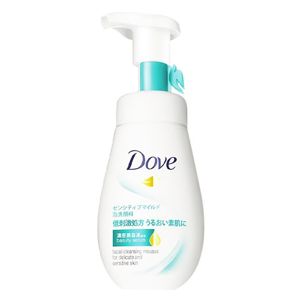 Sữa Rửa Mặt Dạng Bọt Dove Serum Da Nhạy Cảm 160Ml
