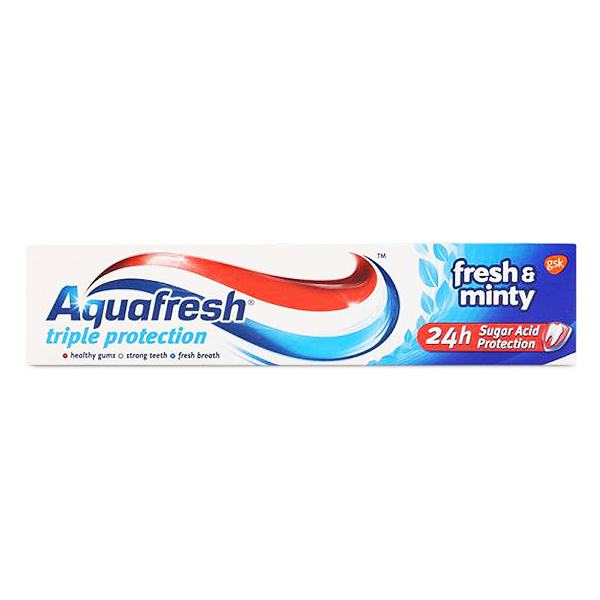 Kem Đánh Răng Aquafresh Family Protection Fresh & Minty 100G