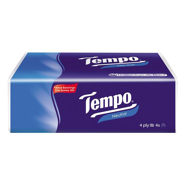 Khăn Giấy Tempo Softpack Neutral 4 Lớp 90 Tờ