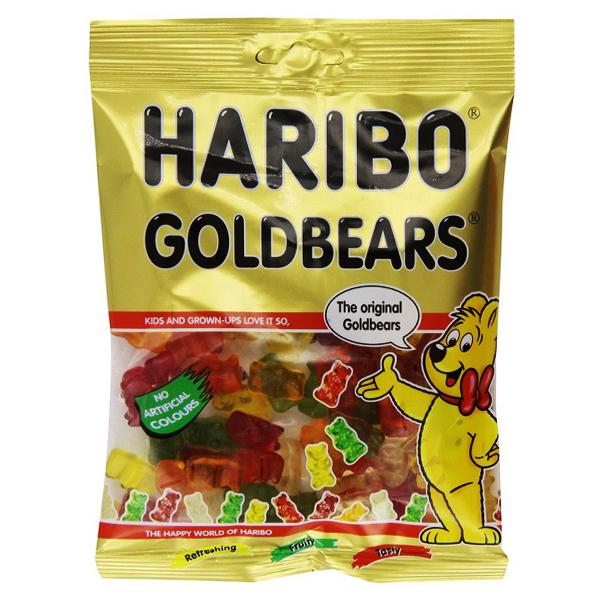 Kẹo Dẻo Haribo Goldbears Gói 80G