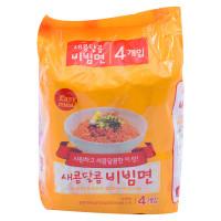 (Hạn sử dụng 23.11.2021) Lô 4 Mì Trộn Vị Chua Ngọt Easy Meal 130G