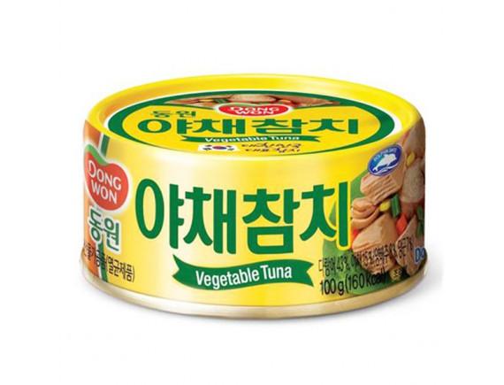 Cá Ngừ Dongwon Vị Rau Củ Hộp 100G