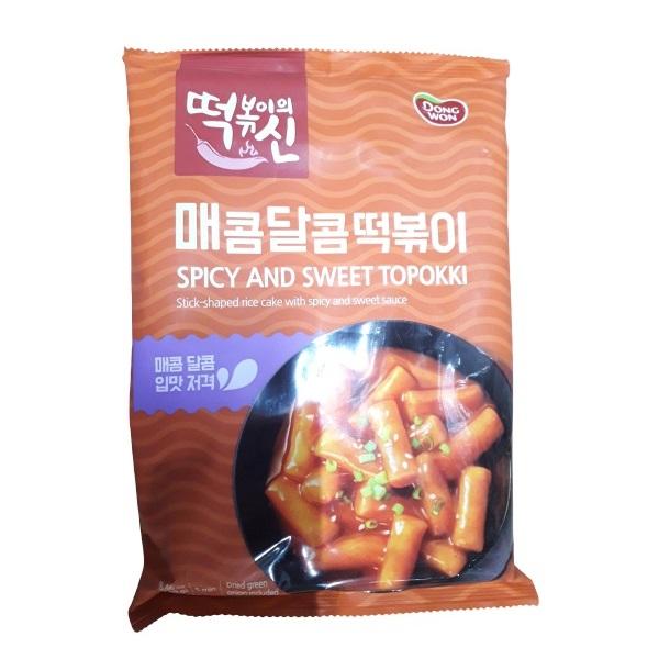 Bánh Gạo Dongwon Cay Ngọt Gói 240G
