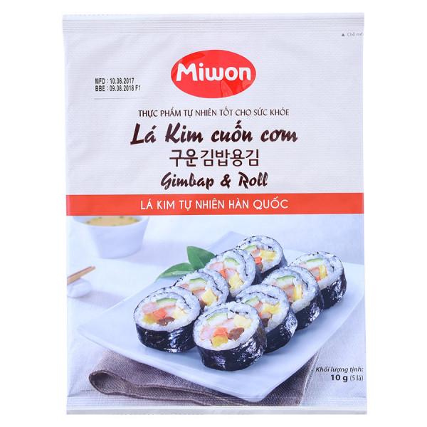 Lá Kim Cuốn Cơm Miwon 10G