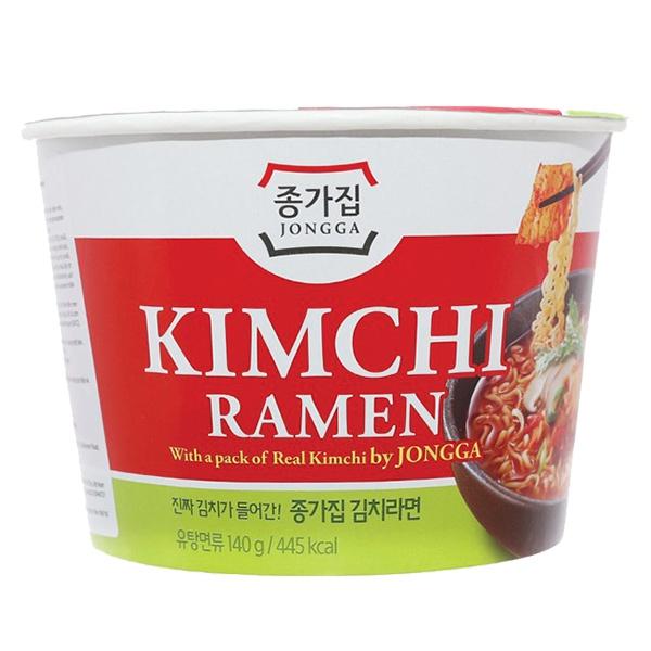 Mì Kim Chi Ramen Jongga Tô 140G
