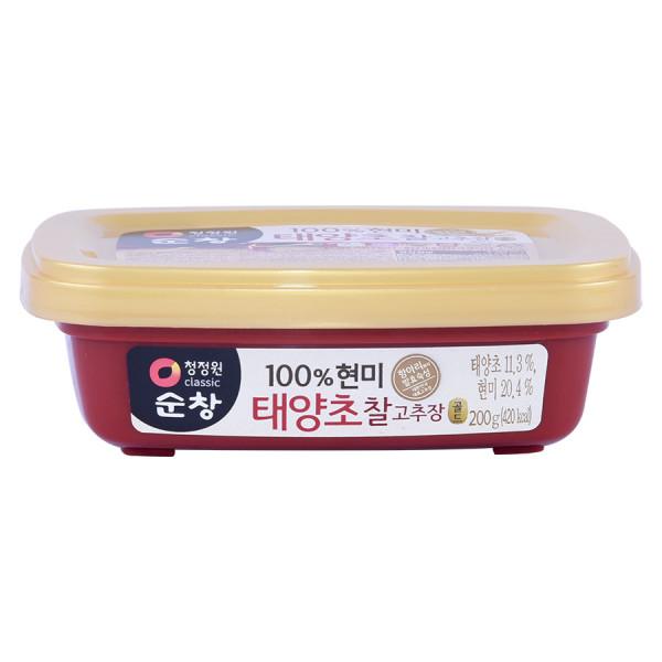 Tương Ớt Gạo Lứt Miwon Chung Jung One Hộp 200G