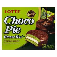 Bánh Lotte Choco Pie Trà Xanh 336G