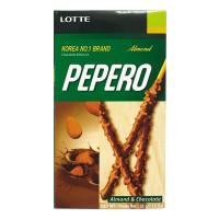 Bánh Que Lotte Pepero Hạnh Nhân 32G