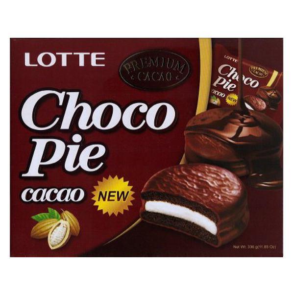 Bánh Lotte Choco Pie Ca Cao 336G