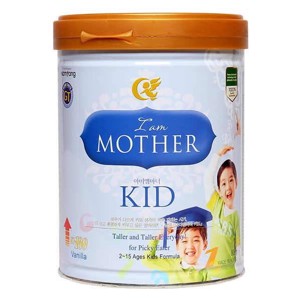 Sữa Bột I Am Mother For Kid Hộp 800G