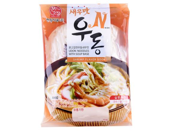 Mì Udon Vị Tôm Hanil Food Gói 225G