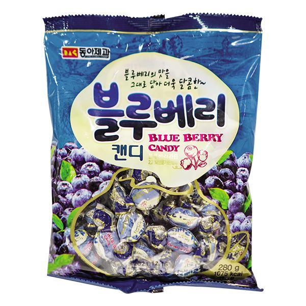Kẹo Cứng Donga Vị Việt Quất Gói 300G