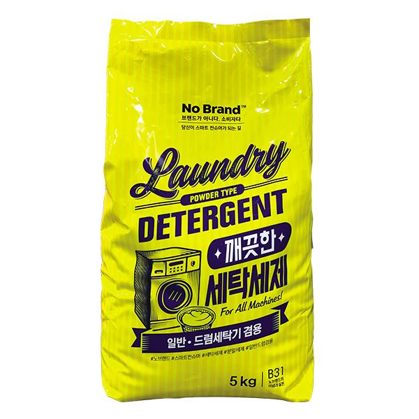 Bột Giặt Siêu Tiết Kiệm Cửa Trước No Brand 5Kg