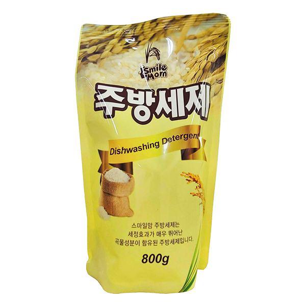 Nước Rửa Chén Smile Mom Hàn Quốc Tinh Chất Gạo Túi 800G