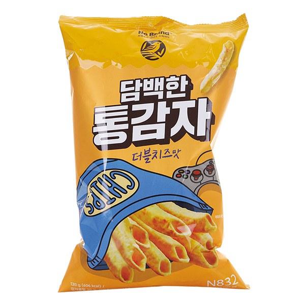 Snack Khoai Tây Ống No Brand Gói 120G