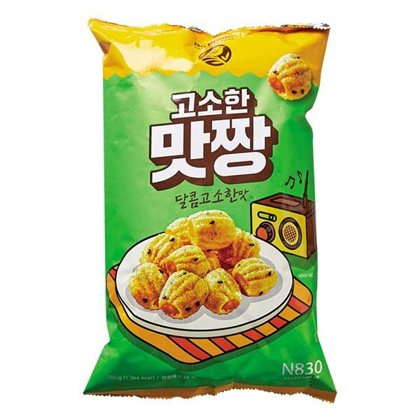Snack No Brand Giòn Ngọt Gói 280G