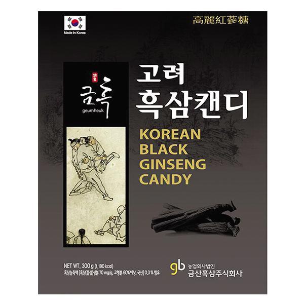Kẹo Sâm Đen Geumheuk Gói 300G