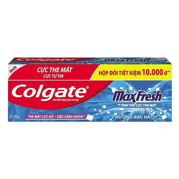 Combo 2 Kem Đánh Răng Colgate Maxfresh Bạc Hà 175G