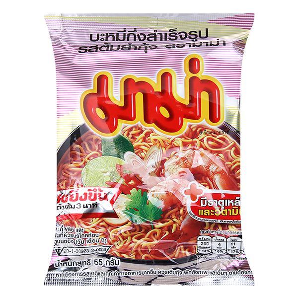 Mì Hương Tôm Tomyum Mama 55G