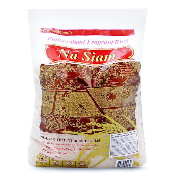 Gạo Thái Pathumthani 5Kg