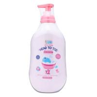 Sữa Tắm Gội Em Bé Oze Vitamin B5 Trái Cây 550Ml