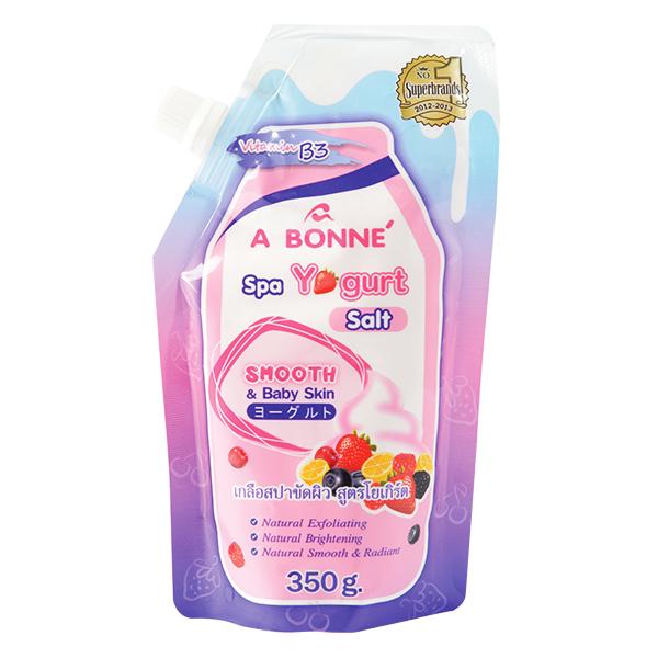Muối Tắm Spa Abonne Yogurt Túi 350G