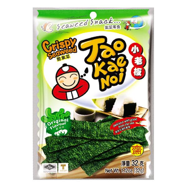 Snack  Rong Biển Tao Kae Noi Tự Nhiên Gói 32G