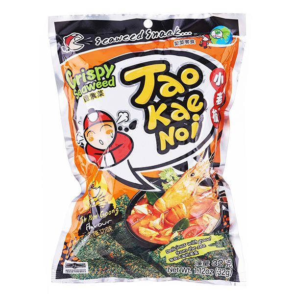 Snack Rong Biển Tao Kae Noi Vị Tomyum Gói 32G