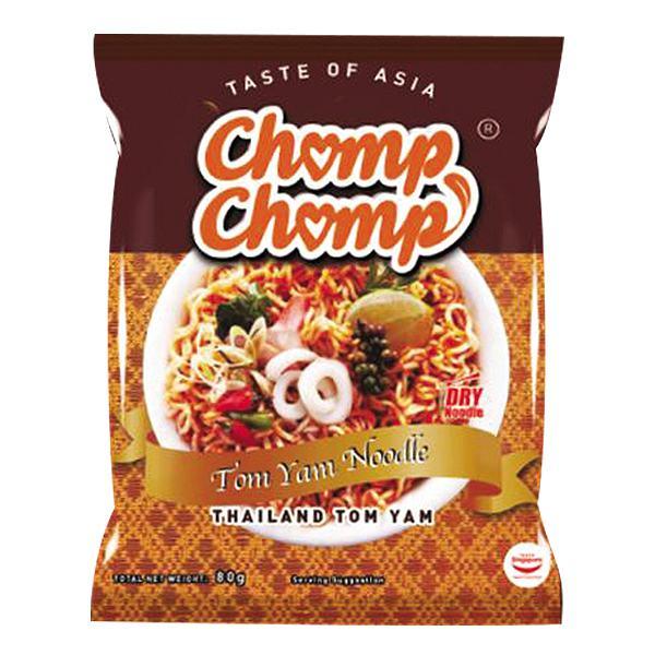 Mì Xào Khô Chomp Chomp Kiểu Tôm Thái Lan Gói 70G