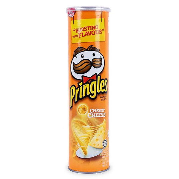 Snack Khoai Tây Pringles Vị Phô Mai Hộp 150G