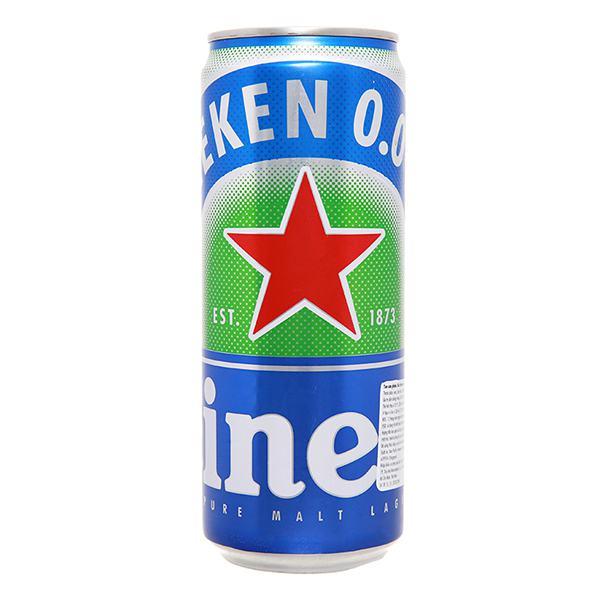 Bia Heineken Không Cồn Lon 330Ml