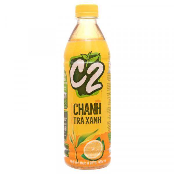 Trà Xanh C2 Chanh 455Ml