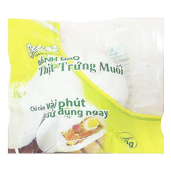 Bánh Bao Agrex Thịt Trứng Muối Gói 120G