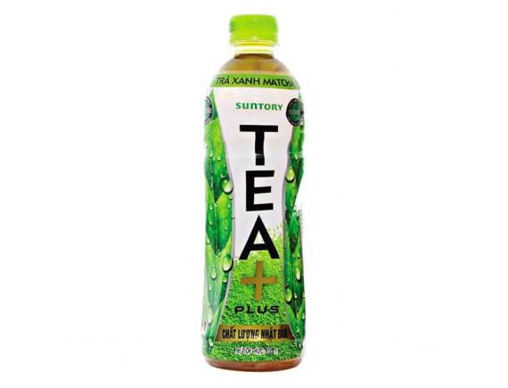 Trà Ô Long Tea Plus Matcha 455Ml