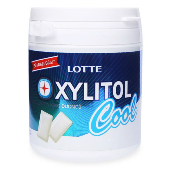 Kẹo Cao Su Xylitol Cool 145G