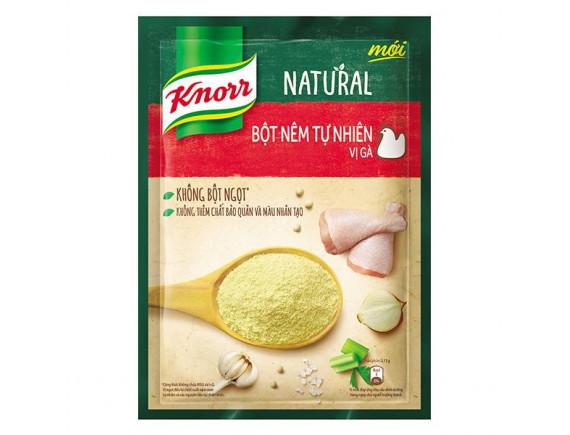 Bột Nêm Tự Nhiên Knorr Natural Vị Gà 330G