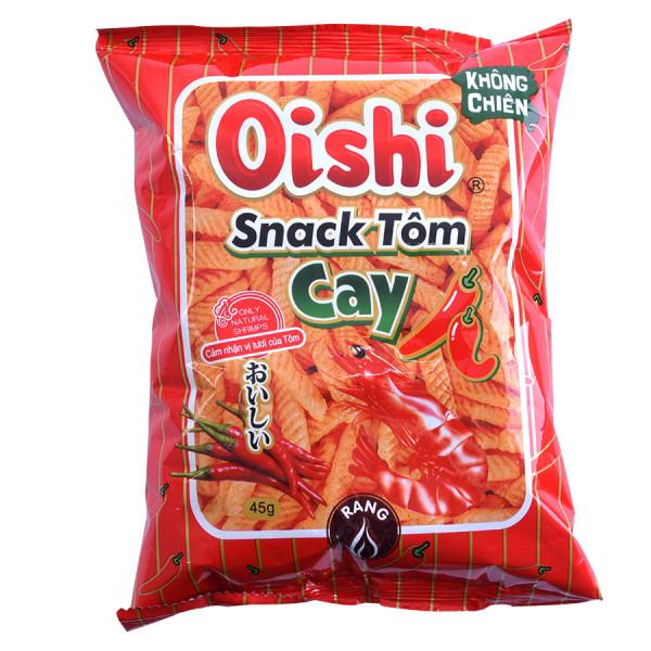 Snack Oishi Tôm Cay Gói 45g