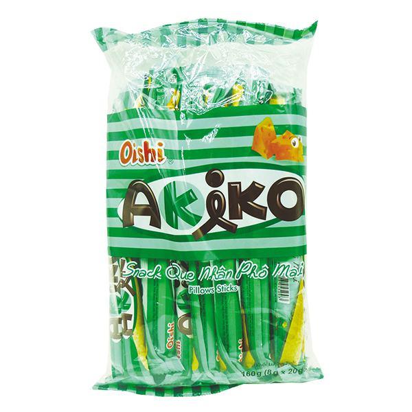 Bánh Snack Que Akiko Nhân Phô Mai 160G