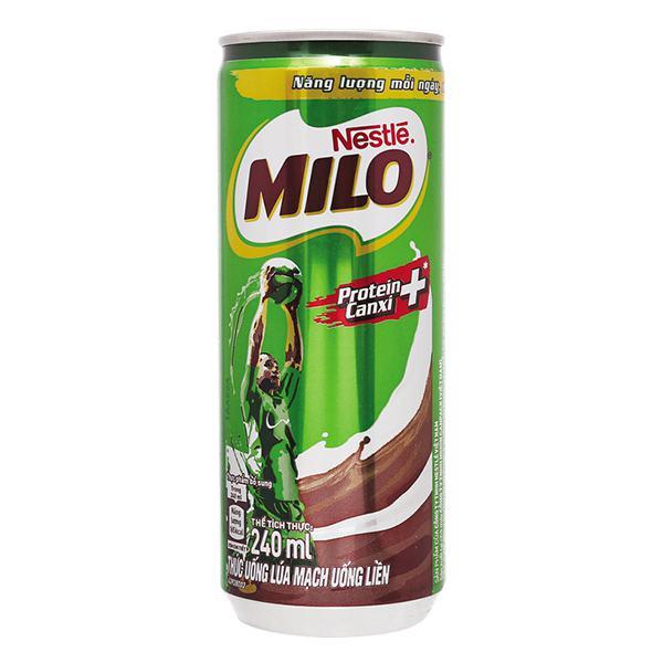 Thức Uống Dinh Dưỡng Lúa Mạch Nestle Milo 240Ml