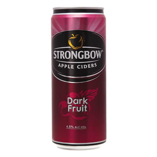 Nước Táo Lên Men Strongbow Vị Nho Đen Lon 330Ml