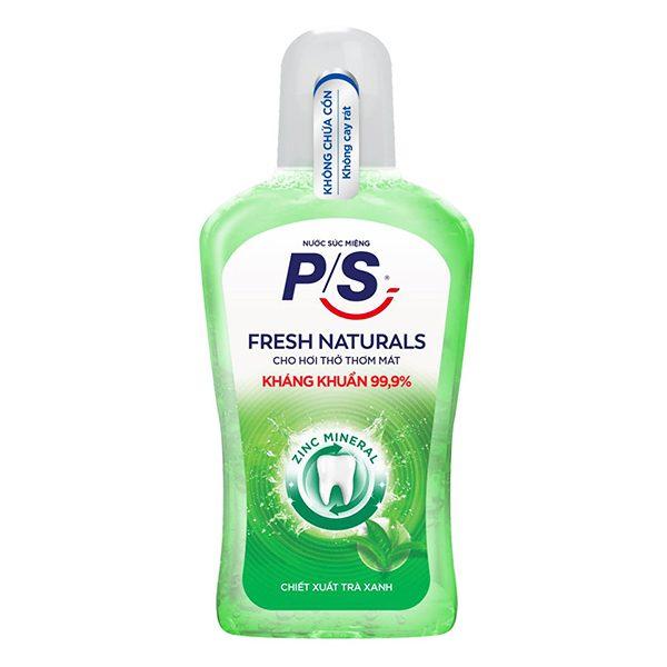 Nước Súc Miệng P/S Fresh Natural 500Ml