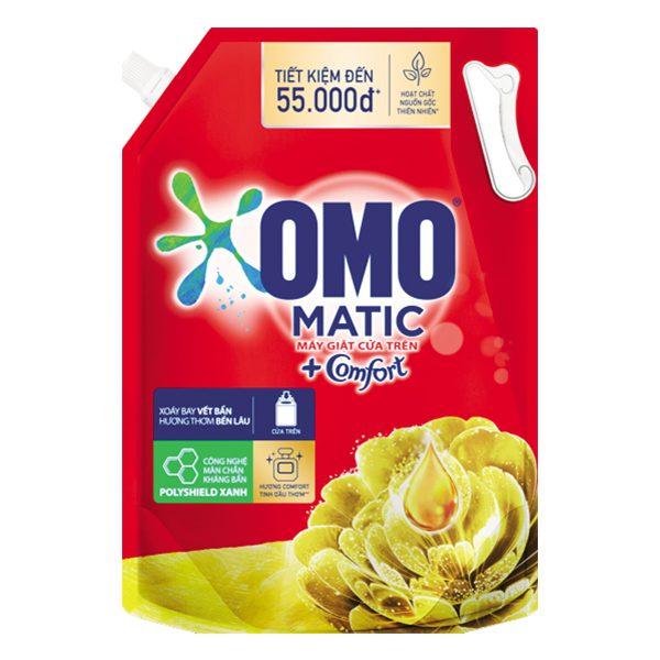 Nước Giặt Omo Comfort Tinh Dầu Thơm Túi 2.9Kg