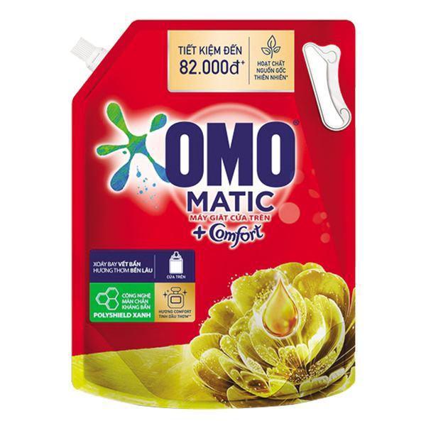 Nước Giặt Omo Matic Comfort Túi 3.7Kg