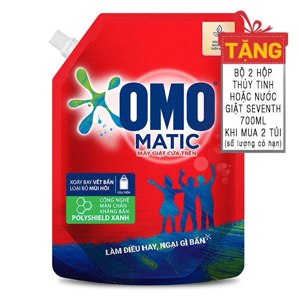 Nước Giặt Omo Matic Cửa Trên Túi 2.2Kg